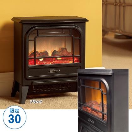 〈ディンプレックス〉電気暖炉(ファンヒーター) Micro Stove(ブラック)