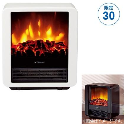 〈ディンプレックス〉電気暖炉(ファンヒーター)  Mini cube(ホワイト)