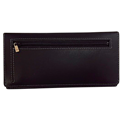 カードをたくさん入れても薄い財布(長財布)ブラック