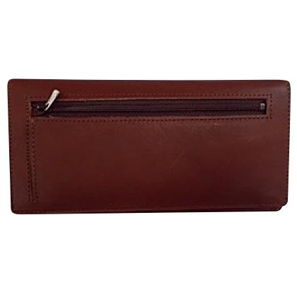カードをたくさん入れても薄い財布(長財布)ブラウン