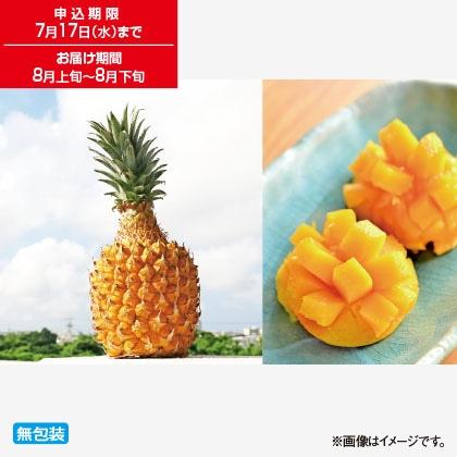 沖縄県産ボゴールパイン&マンゴー