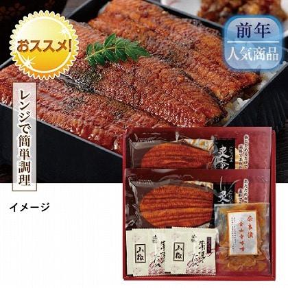 愛知県産うなぎ蒲焼Aハーフカット