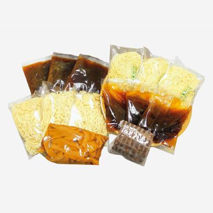 銀座・直久 つけ麺と冷し中華セット