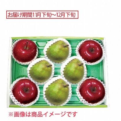 青森 サンふじりんご&山形 ラ・フランス