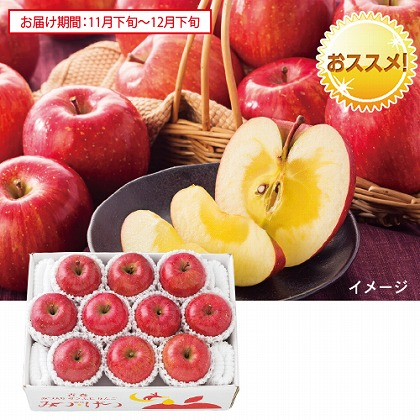 青森 蜜入りサンふじりんご「みつげつ」