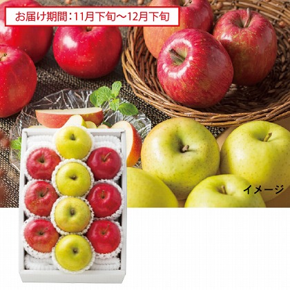 3種りんごアラカルト