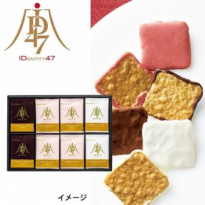 ID47×日本橋菓寮 チョコかけせんべい