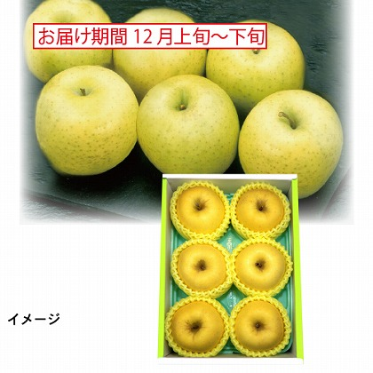 岩手県産 完熟蜜入りりんご「冬恋」