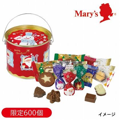 メリーチョコレート クリスマスキャニスター