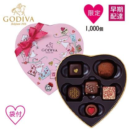 〈ゴディバ〉 チョコレートクロニクル スウィートハート 6粒入