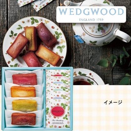 <ウェッジウッド>フィナンシェ&ウェッジウッドワイルドストロベリーティーバッグセット