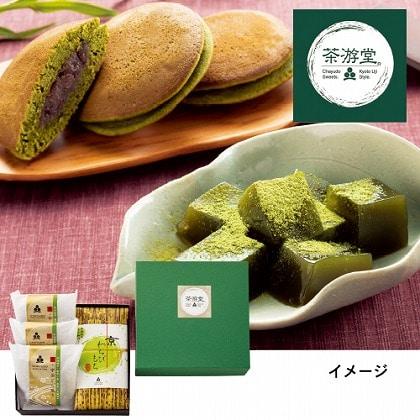 京都 茶游堂 わらび餅&どら焼き