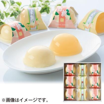 岡山白桃デザートセット
