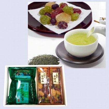 甘納豆・お茶セット