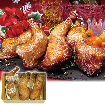 炭焼の鶏足とスモークチキン食べ比べ