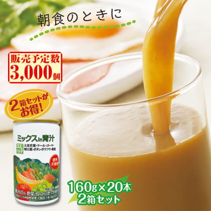 ミックスin青汁2箱