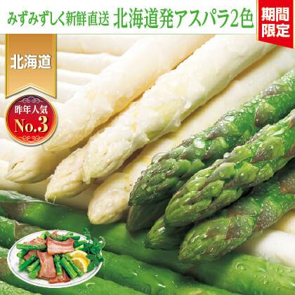 北海道産 アスパラ 2色セット