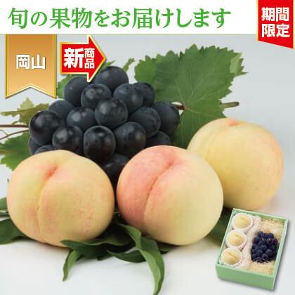 岡山産 白桃とニューピオーネ