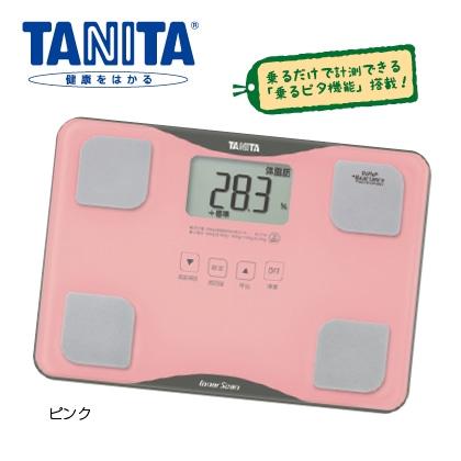 タニタ 体組成計 BC—718(ピンク)