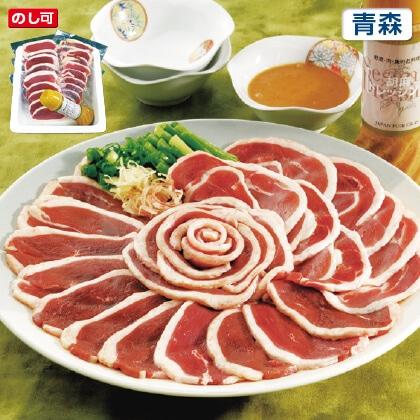青森県産鴨しゃぶしゃぶ肉 600g