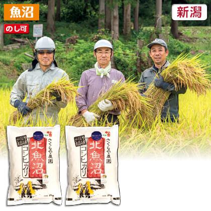 北魚沼コシヒカリ(無洗米)2kg×2 2019年産米3