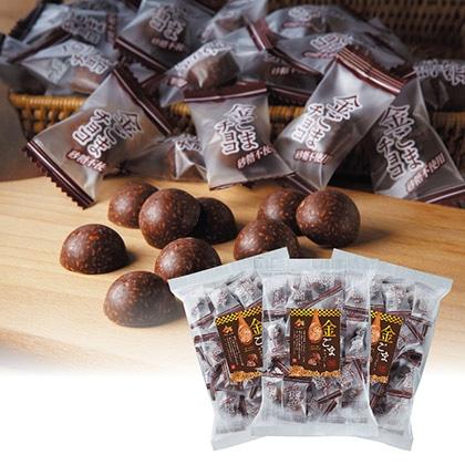 砂糖不使用の金ごまチョコレート