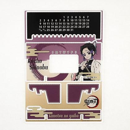 鬼滅の刃 アクリル万年カレンダー 胡蝶しのぶ
