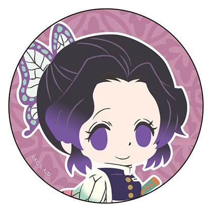 鬼滅の刃 カンバッジ 胡蝶しのぶ デフォルメver.