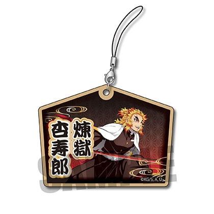 木札ストラップ 「鬼滅の刃」煉獄 杏寿郎