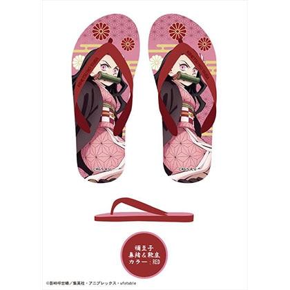 鬼滅の刃 ビーチサンダル B:禰豆子(劇場版)【7月上旬以降発送予定】