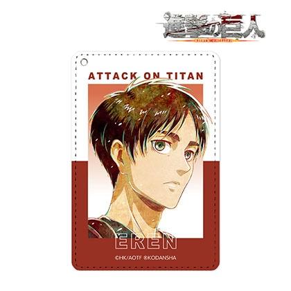 【進撃の巨人】エレン Ani−Art 第2弾 1ポケットパスケース