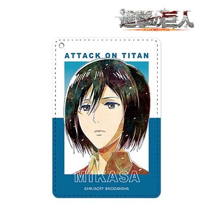 【進撃の巨人】ミカサ Ani−Art 第2弾 1ポケットパスケース