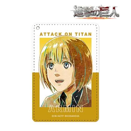 【進撃の巨人】アルミン Ani−Art 第2弾 1ポケットパスケース【6月上旬以降発送予定】