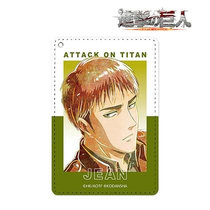 【進撃の巨人】ジャン Ani−Art 第2弾 1ポケットパスケース
