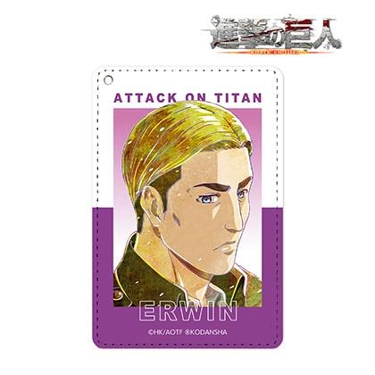 【進撃の巨人】エルヴィン Ani−Art 第2弾 1ポケットパスケース