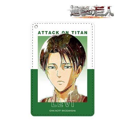 【進撃の巨人】リヴァイ Ani−Art 第2弾 1ポケットパスケース