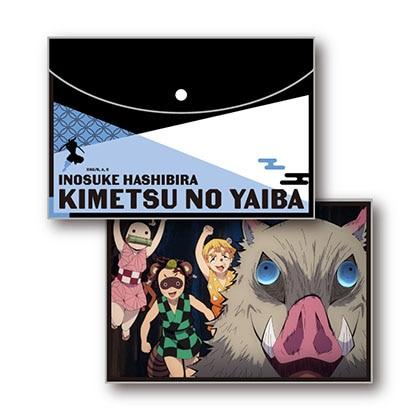 鬼滅の刃 フラットポーチ Vol.2 D嘴平伊之助
