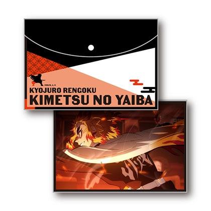 鬼滅の刃 フラットポーチ Vol.2 E煉獄杏寿郎