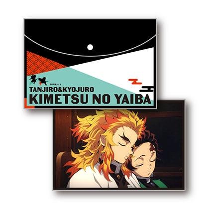 鬼滅の刃 フラットポーチ Vol.2 H竃門炭治郎&煉獄杏寿郎