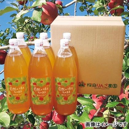 りんごジュース(サンふじ・王林) 6本入