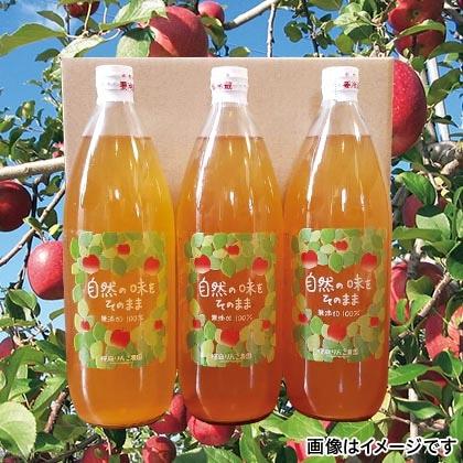 りんごジュース(サンふじ・王林) 3本入