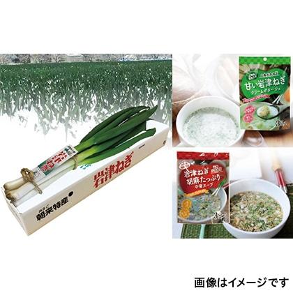 岩津ねぎと粉末スープのセット