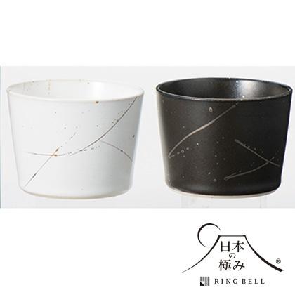日本の極み ペア金銀彩カップ【弔事用】