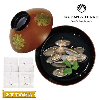 オーシャン&テール 炊き込みご飯とお吸物セット【弔事用】
