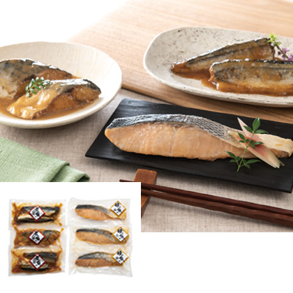 煮魚&焼魚詰合せA【弔事用】