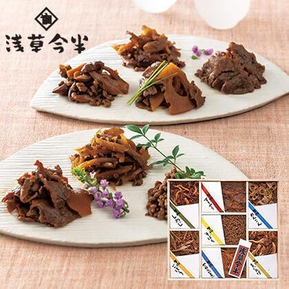 浅草今半 牛肉佃煮7種詰合せ【慶事用】
