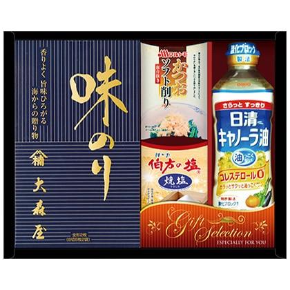 日清&大森屋 バラエティギフトA【弔事用】