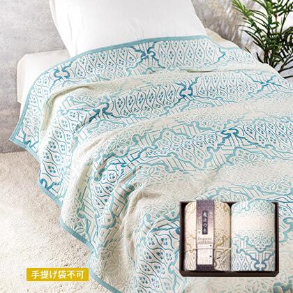 極選魔法の糸 四重織ガーゼ毛布2枚セット【弔事用】