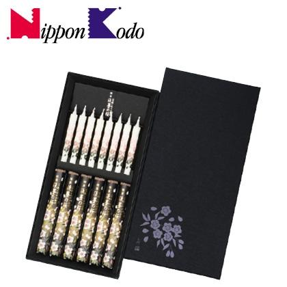 日本香堂 淡墨の桜 絵ローソクセット【弔事用】