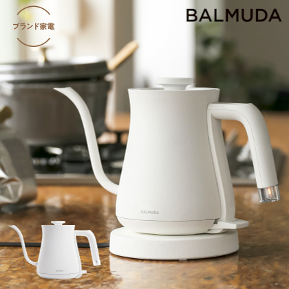 [バルミューダ]BALMUDA The Pot 電気ケトルホワイト